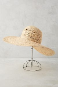 straw hat_anthropologie