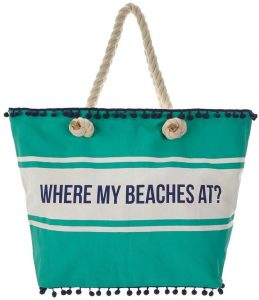 VERY BEACH BAG WHERE MY BEACHES AT