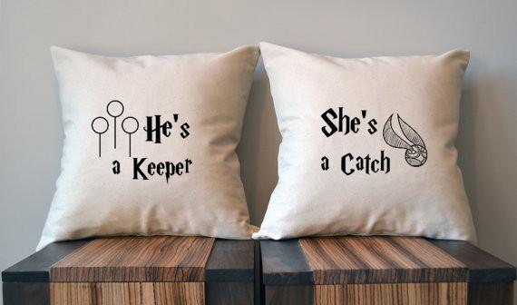 funny pillow-she-a-catch
