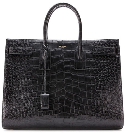 saint-laurent-sac-de-jour-alligator-leather-tote