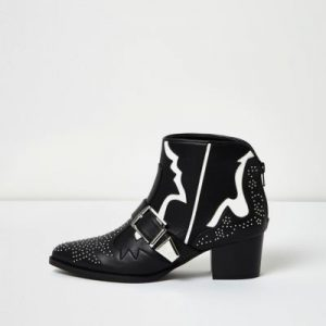 river-island-western studded boots