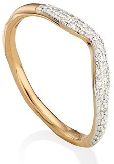 MONICA VINADER DIAMOND RING