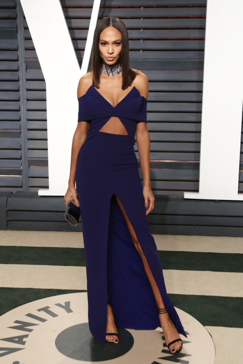 Joan Smalls in Brandon Maxwell