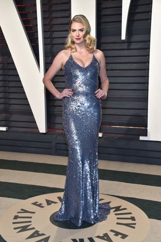 Kate Upton in custom Thakoon
