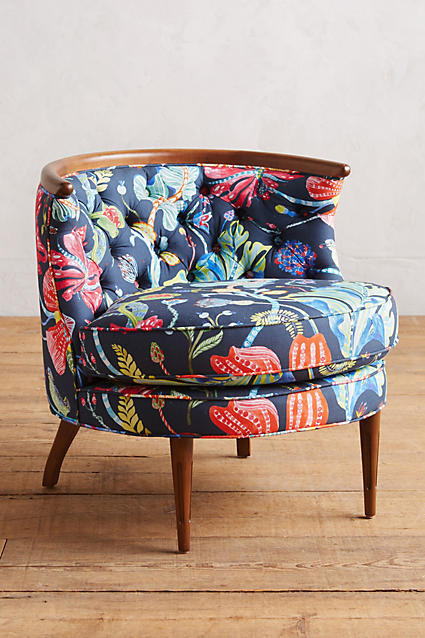 ANTHROPOLOGIE THEA-PRINTED BIXBY CHAIR