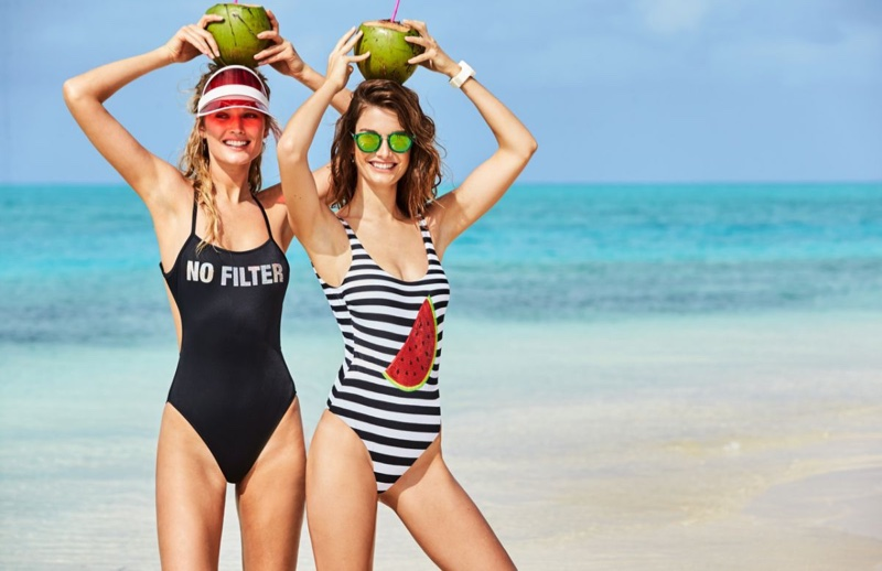 2f669e8a76e9c Calzedonia swimsuit 2017 campaign: models ready to party