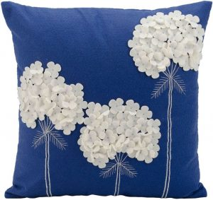MINA VICTORY 3 FLOWERS PILLOW
