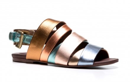 See By Chloé multistrap leather sandal
