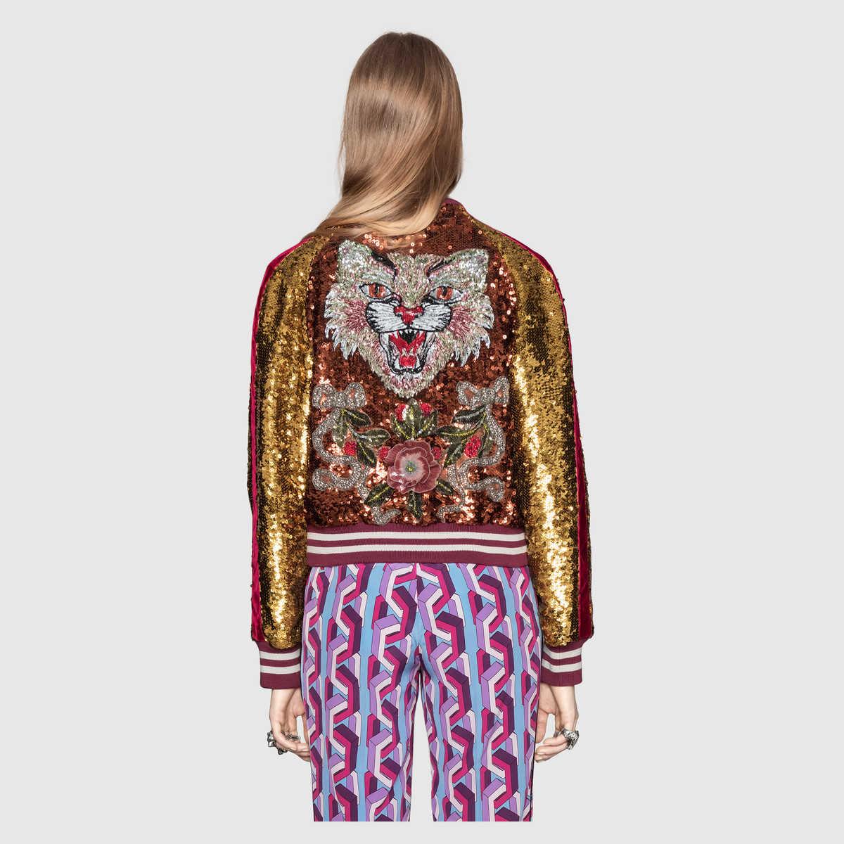 Embroidered-sequin-and-velvet-bomber