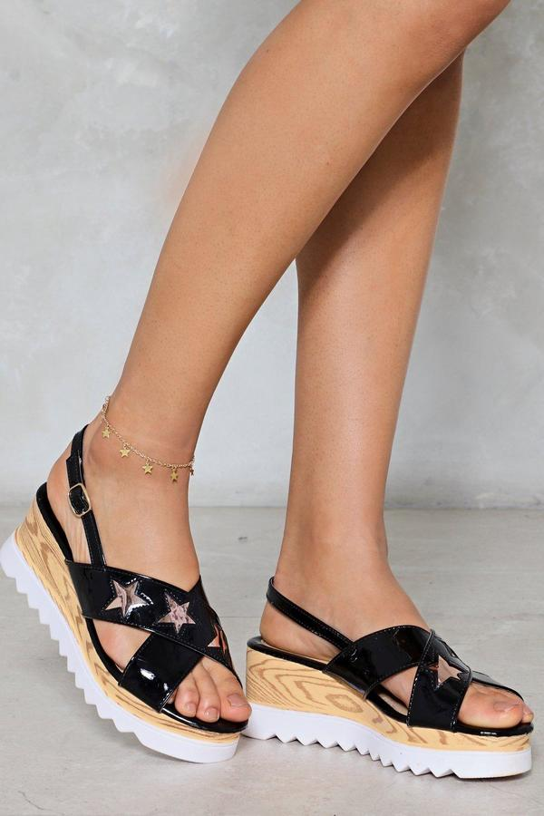 nastygal Constellation of the Heart Star Ankle Bracelet