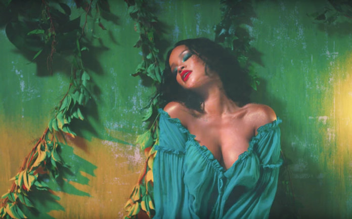 rihanna wild video outfit
