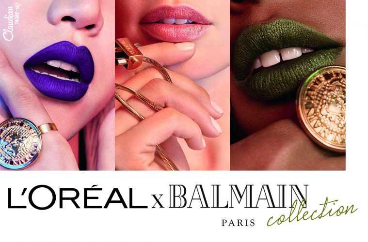 L'OREAL X BALMAIN campaign collection