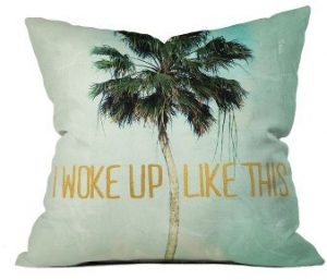 Deny Designs Woke Up Like This Pillow home design