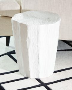 Global Views Javi Trunk Stool-Side Table