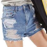 Women's Topshop Ripped shorts