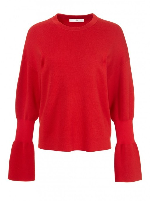 red pullover tibi