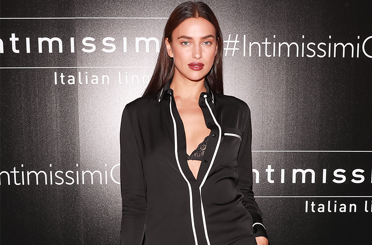 irina shayk intimissimi new york