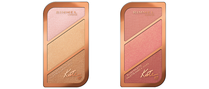 Highlighting Palette - Blushing Palette Rimmel