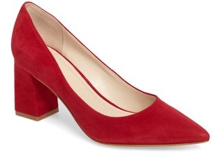 Marc Fisher 'Zala' Pump red shoes