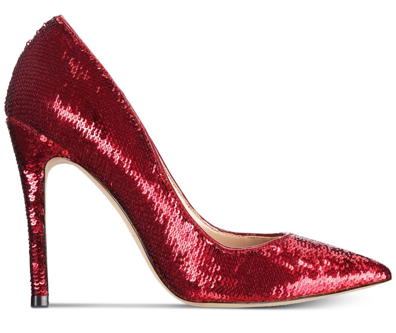 aldo red shoes Stessy Sequin Pumps