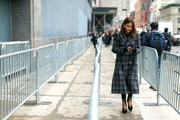 designer coats street style new york