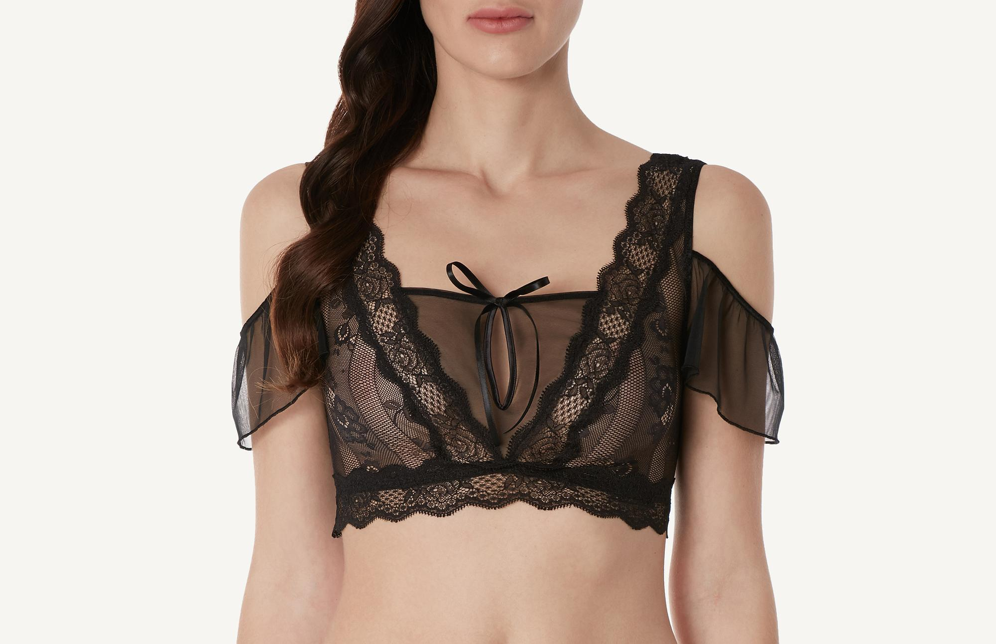 chic frou-frou top intimissimi