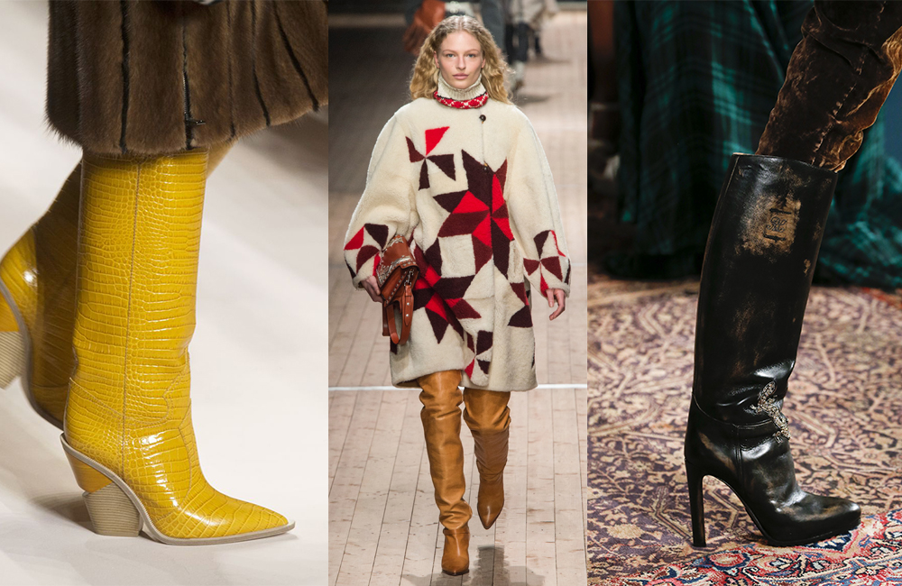 Boots trends - fall/winter 2018