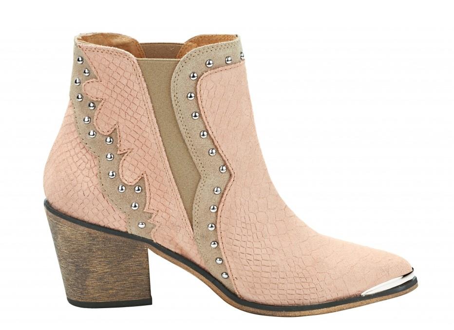 heine pink cowboy boots