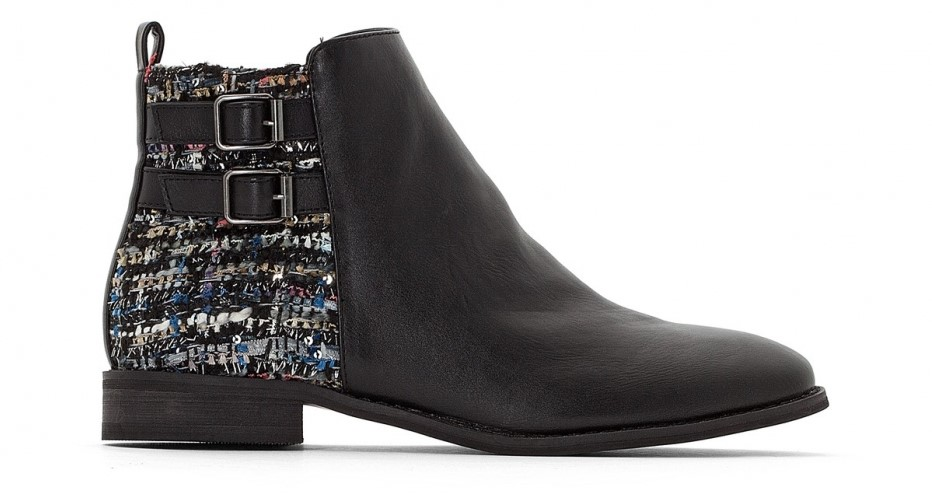tweed ankle boot - boots trends