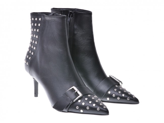 epica boots studded black leather