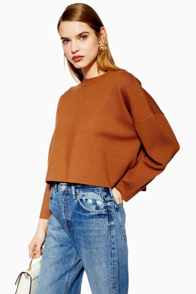 asymmetric sweater topshop