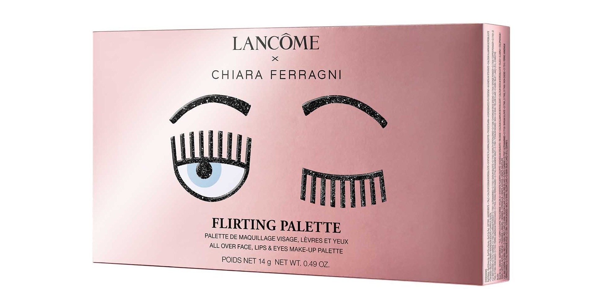 Lancôme x Chiara Ferragni - lit-from-within capsule collection