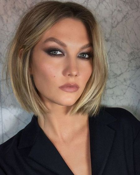 karlie-kloss-model bob