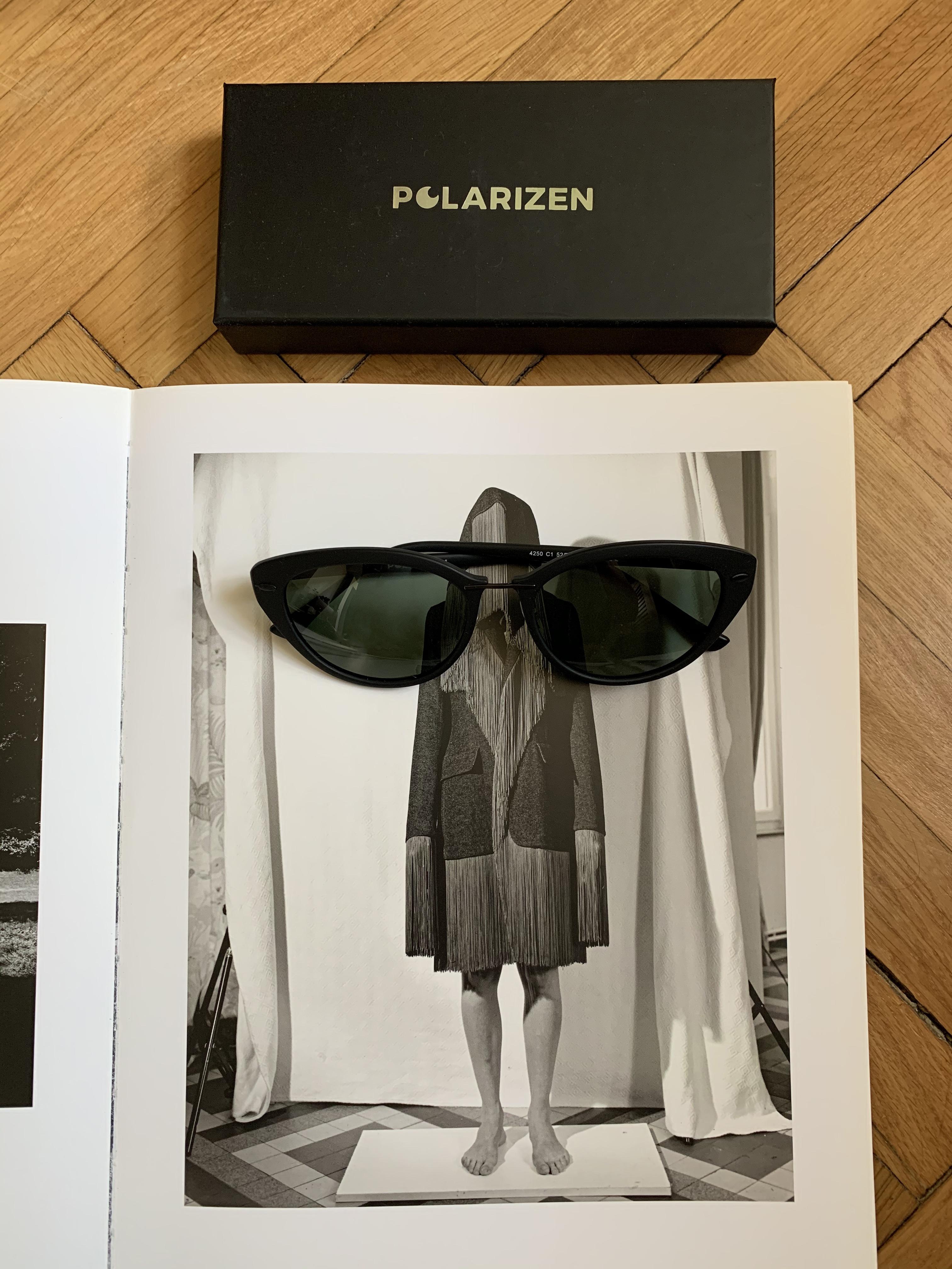 black sunglasses - Lensa Polarizen