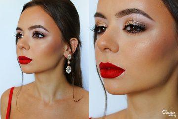 x-mas make-up