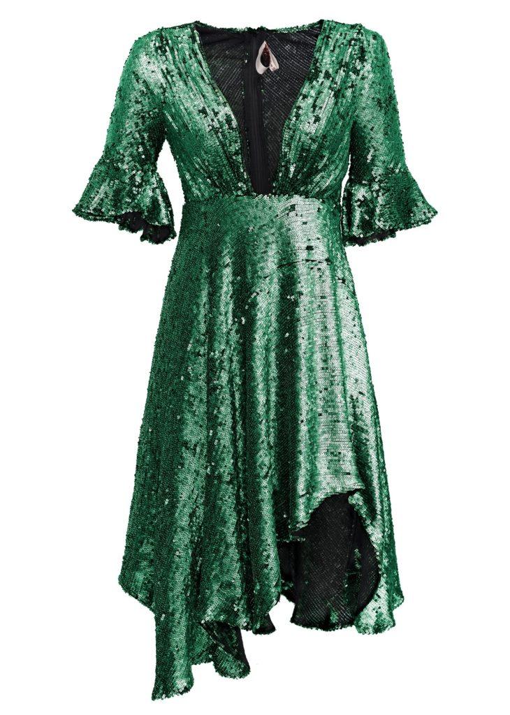 MLH romanian designer sequin dresses